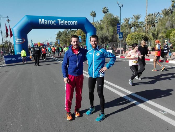 Eneko Agirrezabal 1:04:59 Marrakecheko (Maroko) Maratoi Erdian