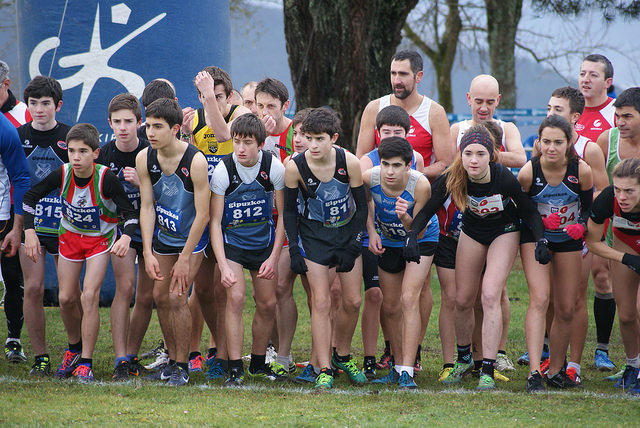 20 podiums en el cross de Arrate (Eibar)
