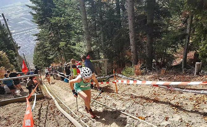 Irati Zubizarreta gana en el mítico kilómetro vertical de Fully en Suiza