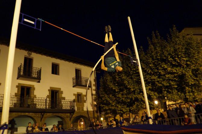 Éxito del atletismo en la calle de Lazkao