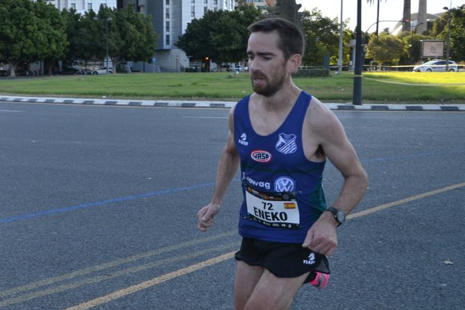 Eneko Agirrezabalen maratoiaren elitean sendotzea