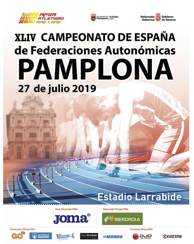 Estatal Absoluto de Federaciones Autonómicas en Pamplona