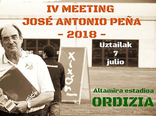IVMeeting José Antonio Peña              Gran Premio Ordizia