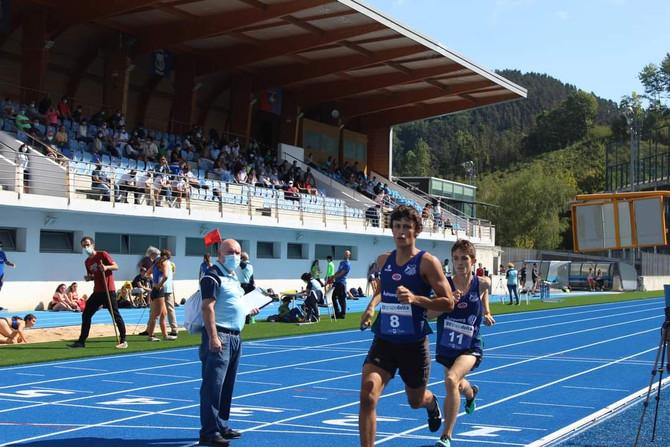 Gran jornada de atletismo en la pista de Altamira