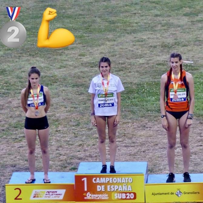 Nora Tobar Subcampeona de España Sub 20 de Salto de Altura