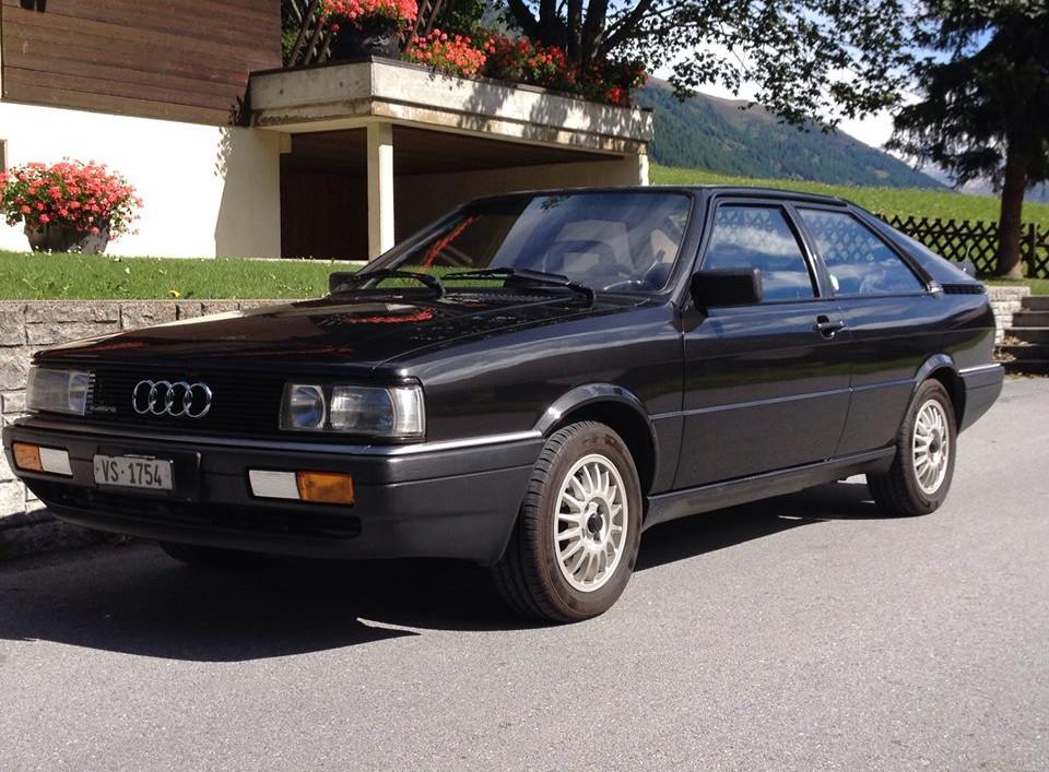 Audi Coupe Quattro Francesca