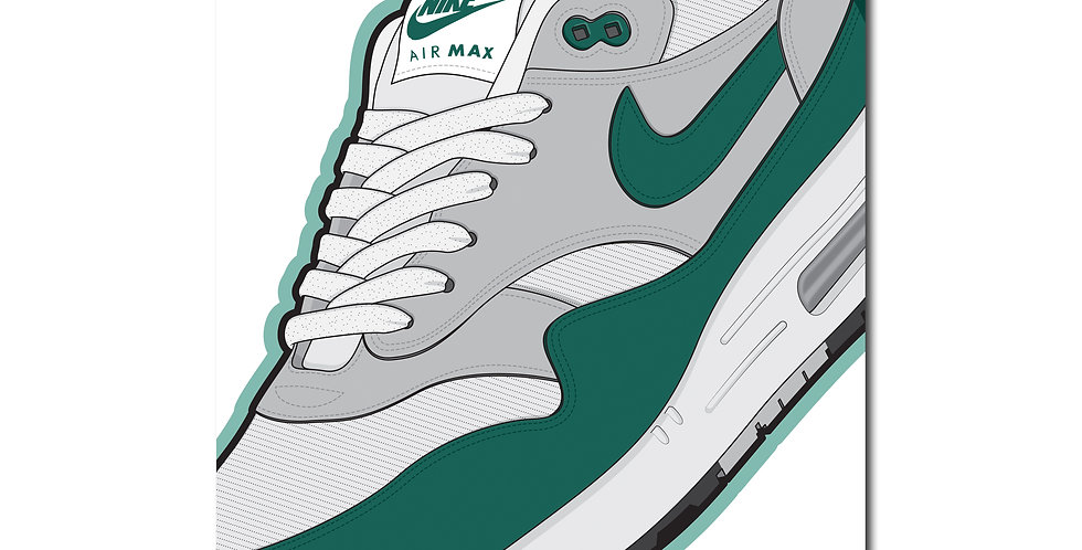 Affiche AM1 Hunter Green