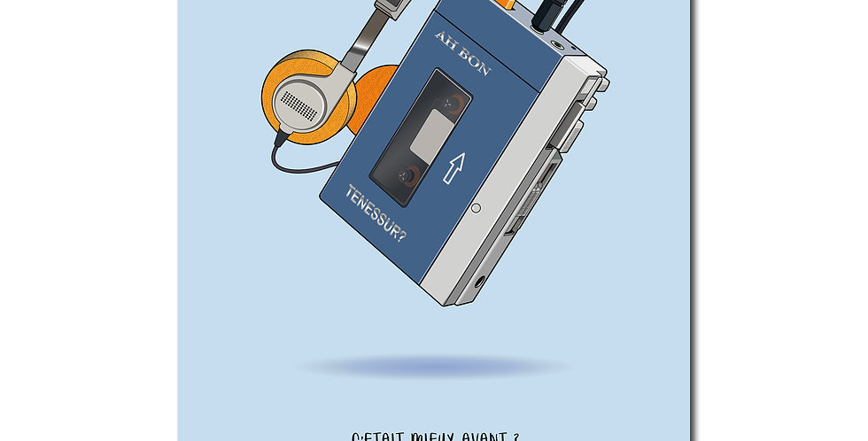Affiche Walkman
