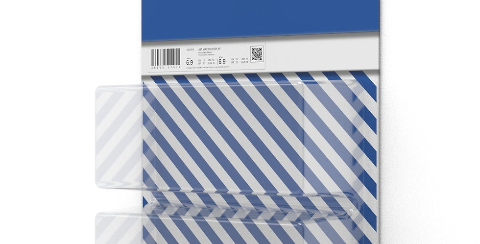 Display Air Max 90 Recraft Bleu