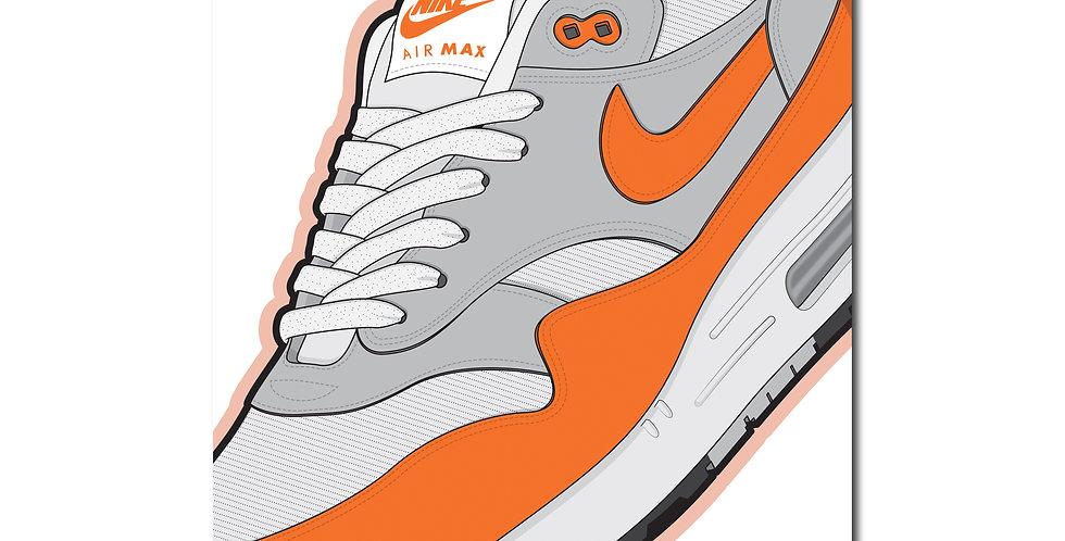 Affiche AM1 Magma Orange