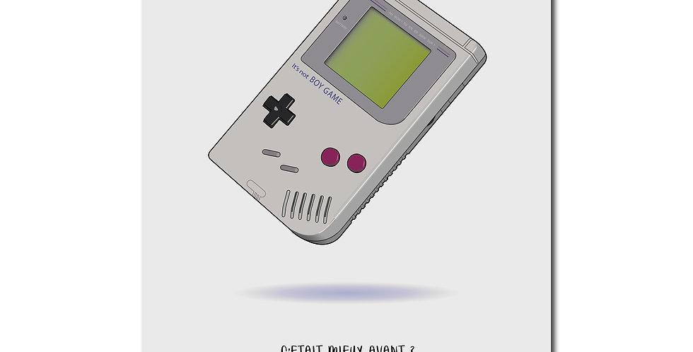 Affiche Gameboy