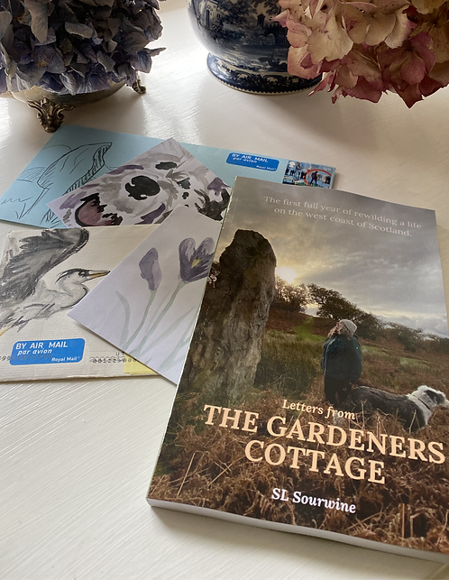 Book & 12 months of Letters from The Gardeners Cottage