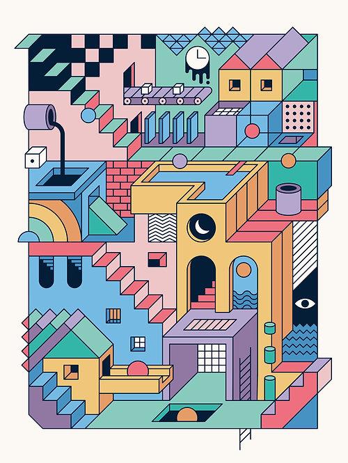 80s Escher