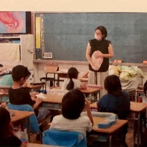 2021/7/12 小学校4年生 特別授業 (昭島市)