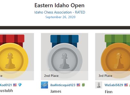 Upset At The Eastern Idaho Open