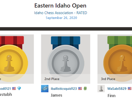 Upset At The Eastern Idaho Open