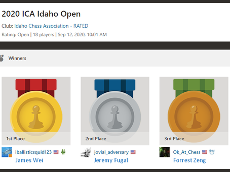 James Wei Victorious in The Idaho Open