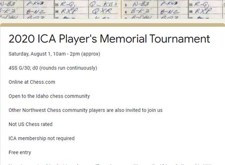 Idaho Chess Announces the Start of the Summer Season!