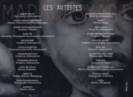 Les artistes madagasyart 2018