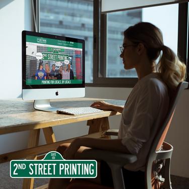 2ND STREET PRINTING WEBSITE