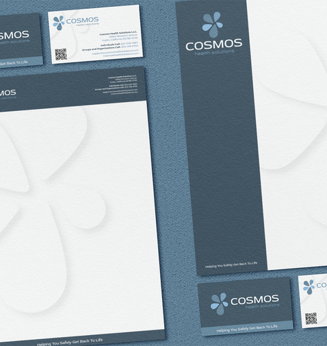 Cosmos Health Solutions Stationery