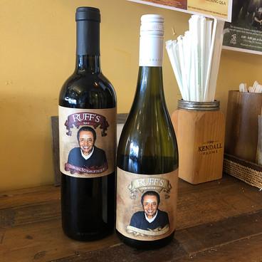 Ruff Wine Label Design