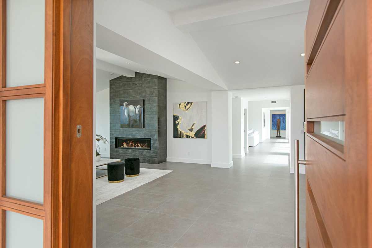 San Diego Living Room Design and Remodel
