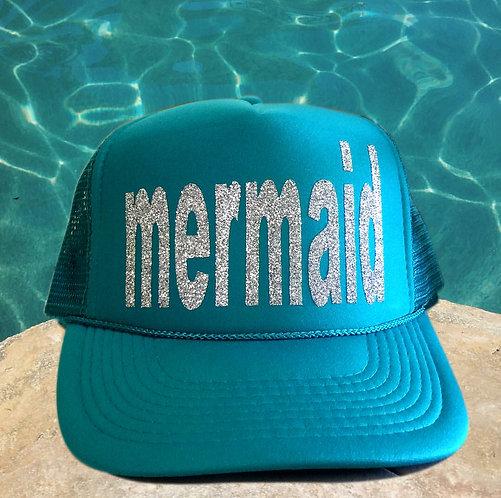 MERMAID TRUCKER CAP