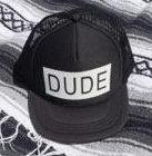 DUDE YOUTH TRUCKER CAP
