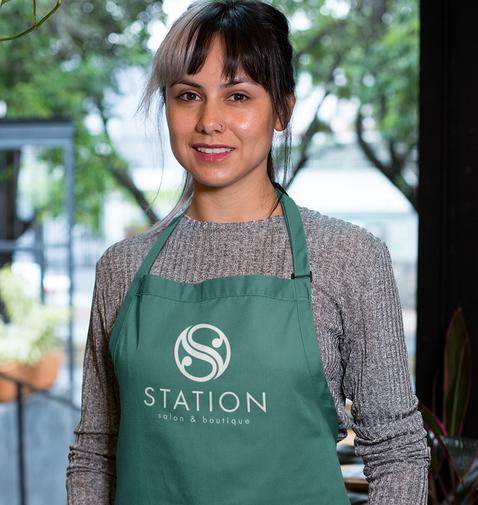 Station Salon Apron
