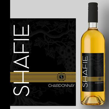 SHAFIE-Chardonnay Label Design