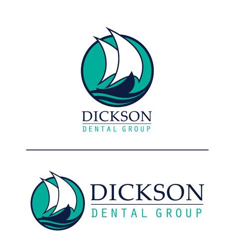 Dickson Dental Color Logo Lockup Variations