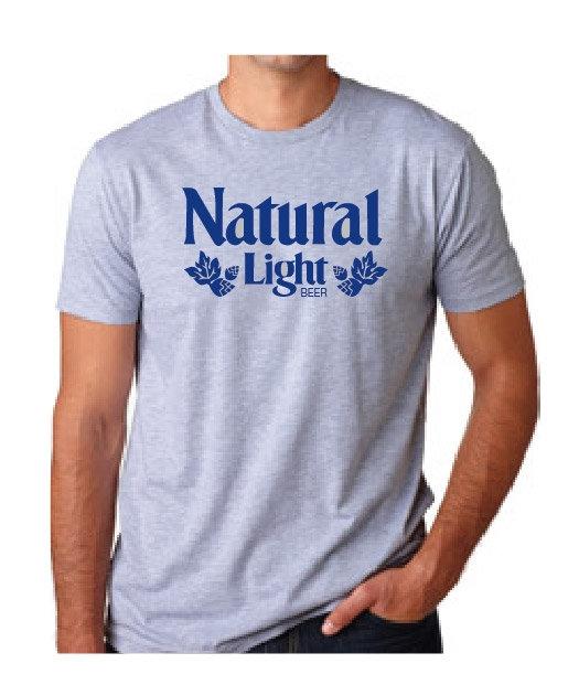 NATURAL LIGHT Vintage Tee
