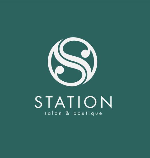 Station Logo White