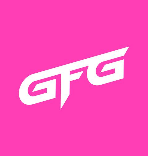 GFG Logo White