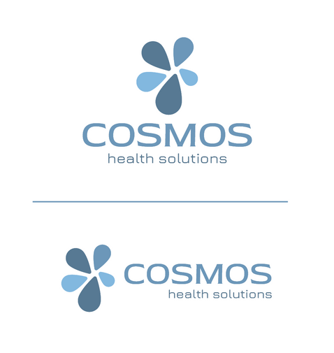 Cosmos Health Solutions Logo on White Background