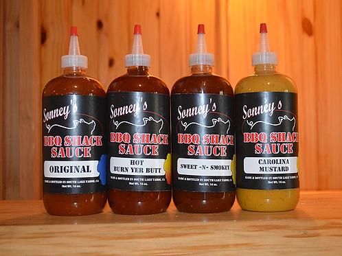 Sonney's BBQ Sauce 4 Pack