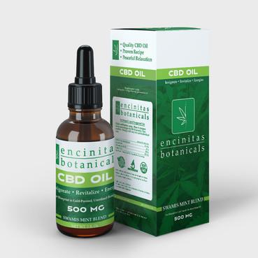 Encinitas Botanicals Box and Label Desig