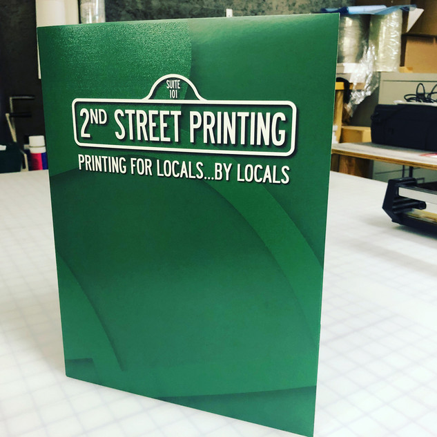 2nd Street Folder
