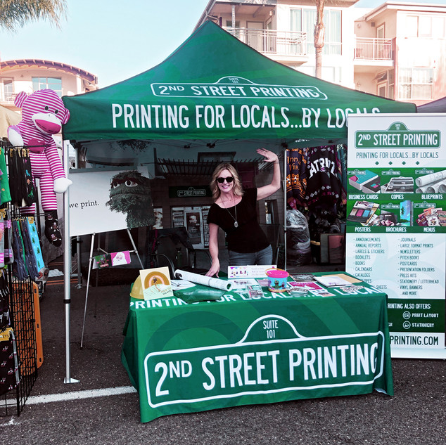2nd Street Booth