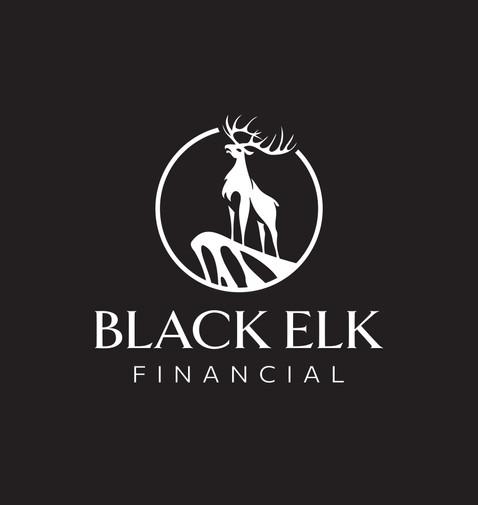 Black Elk Logo White
