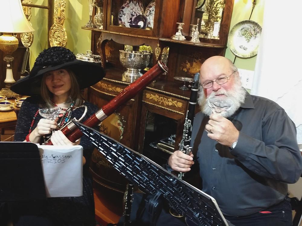 Judy & David at Pastiche