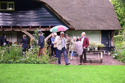 In de regen bij Hubertushof