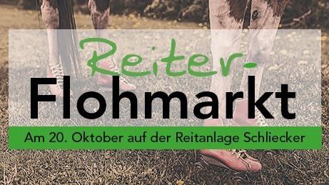 Am 20. Oktober findet unser Reiterflohmarkt statt :)