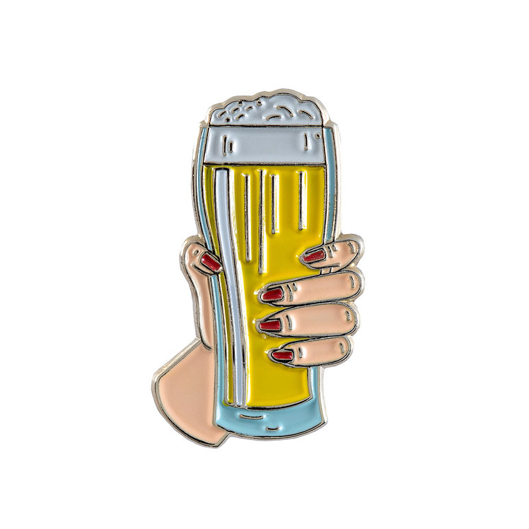 "Enamel Pin ""Cheers!"""