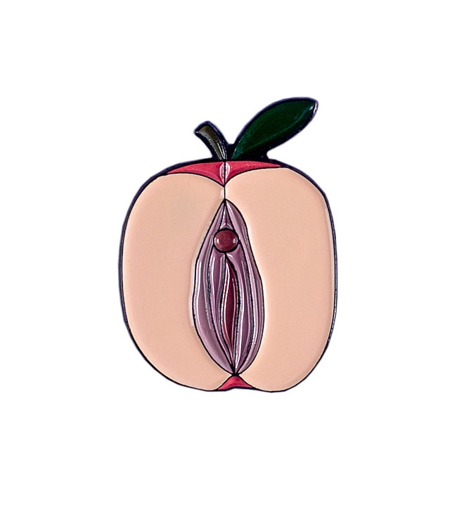 "Enamel Pin ""Apple"""
