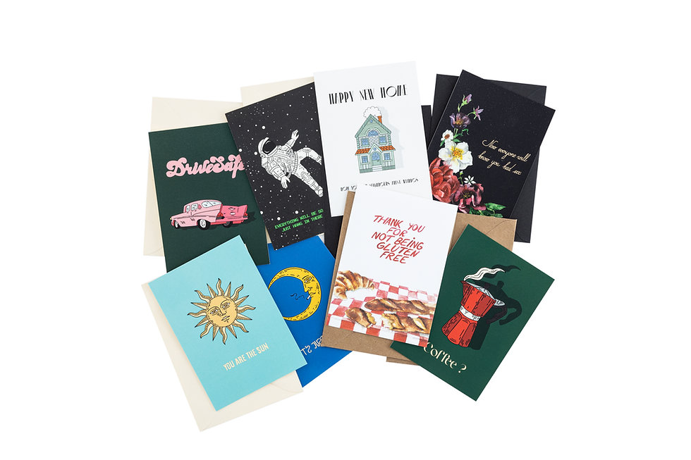 5 Postcards Of Your Choice