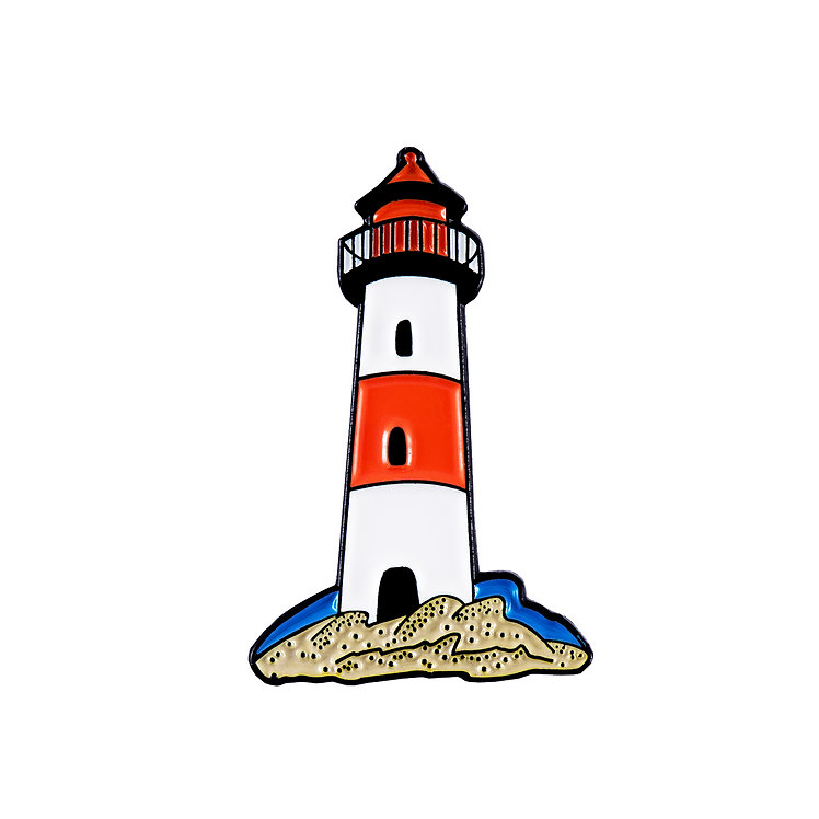 "Enamel Pin ""Lighthouse"""