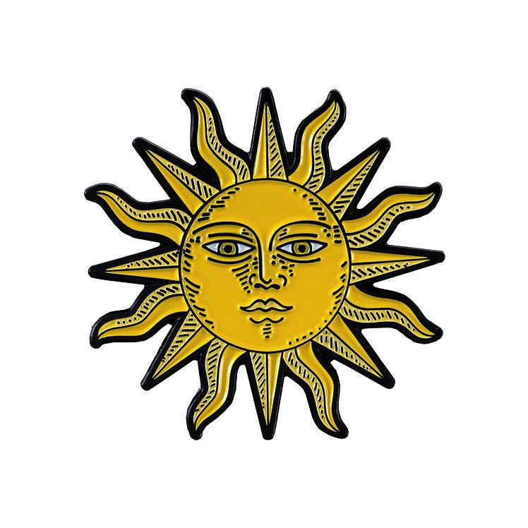 "Enamel Pin ""Sun"""
