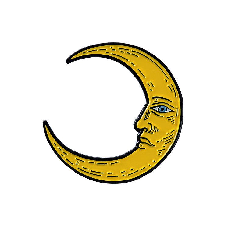 "Enamel Pin ""Moon"""